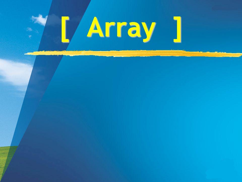[ Array ]